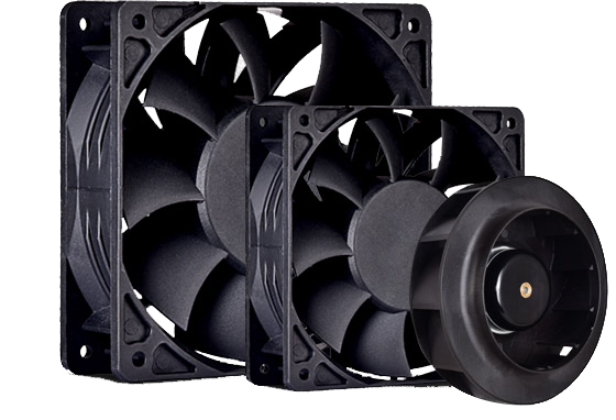 DC Axial Cooling Fans